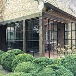 Poolhouse – serre – aanbouw